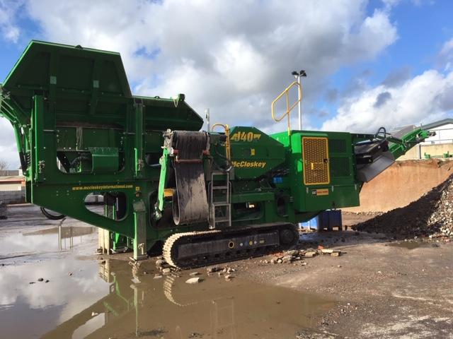 2019 McCloskey J40 –   Crushers   Hillview Plant - Crushers